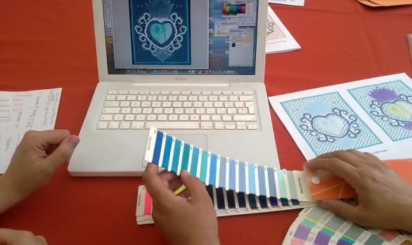 Design al tombolo: progetto di un intreccio