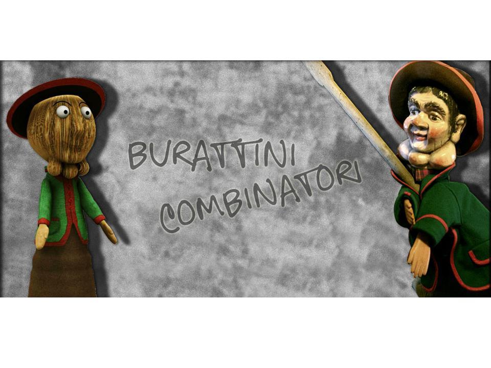 Giochi d'archivio - burattini combinatori (2007)