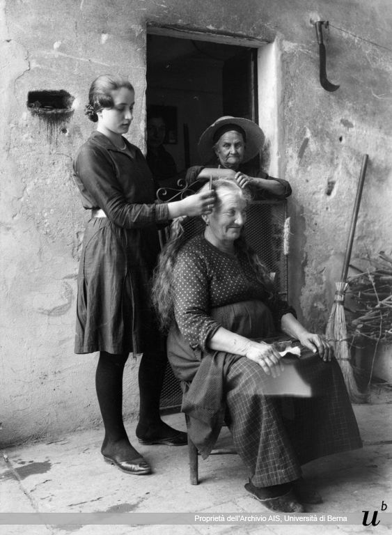 Paul Scheuermeier. Pettinare, Pescarolo (CR), 1931