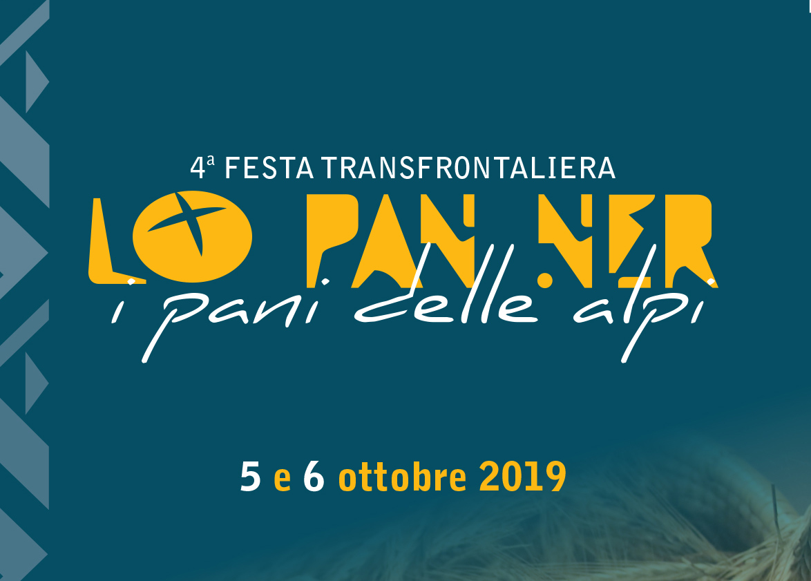 "4° Festa transfrontaliera ""Lo Pan Ner"" - 5/6 Ottobre 2019"
